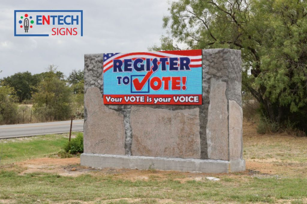 LED Signs Remind Residents and Citizens of Important Times and Events!