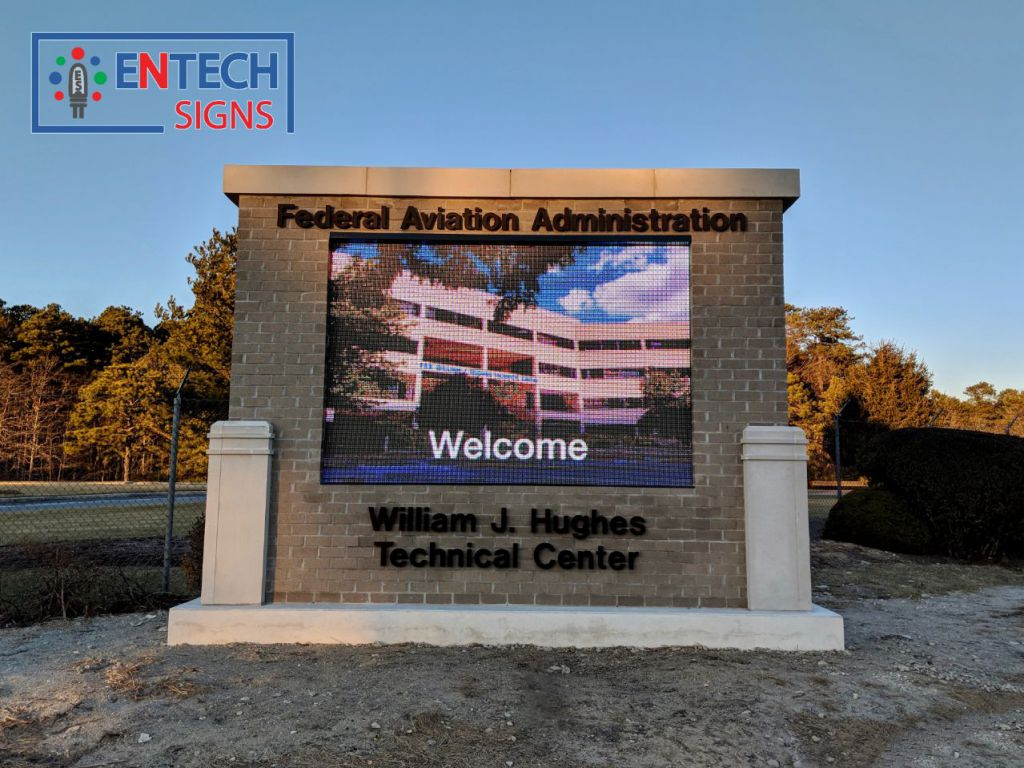 Improves Campus Safety, Security and Motivates Everyone with New Eye Catching Digital LED Marquee Sign!