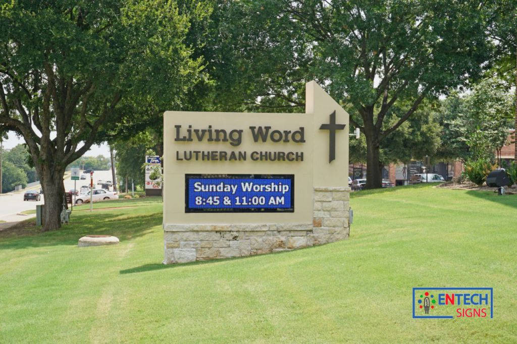 LED Signs help Outreach and Grow Your Church!