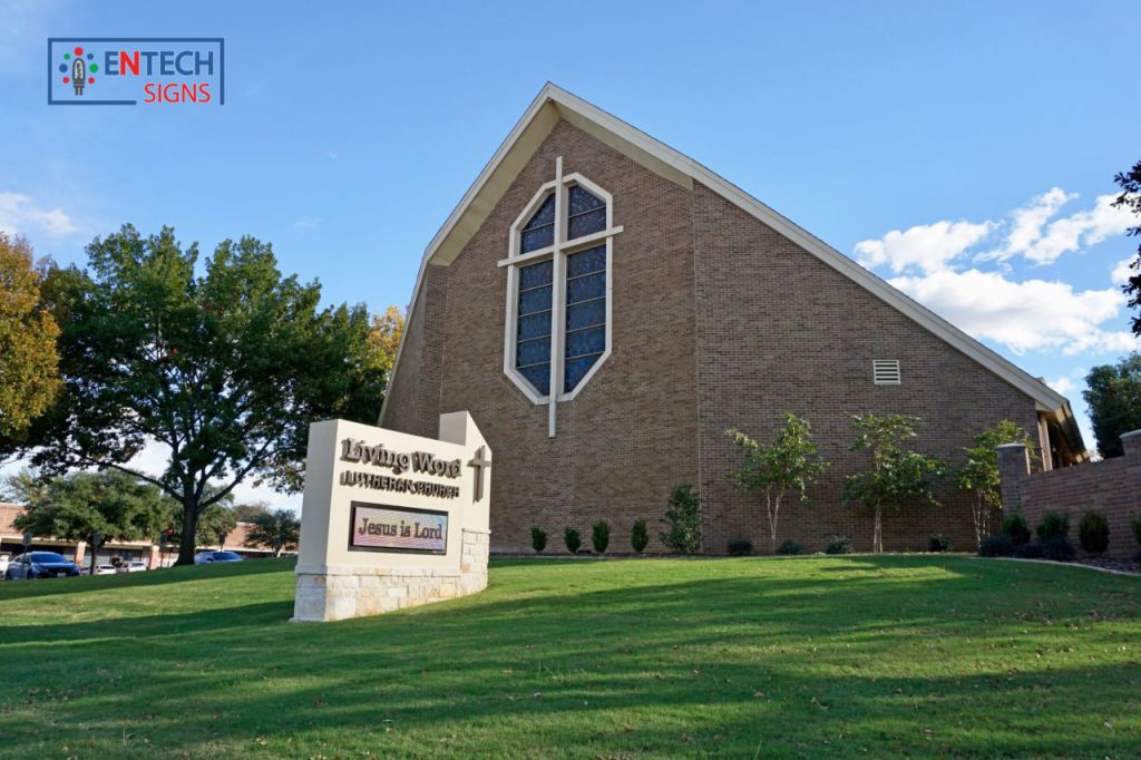 Outdoor Church LED Signs Motivate, Inspire and Spread the Word of God!