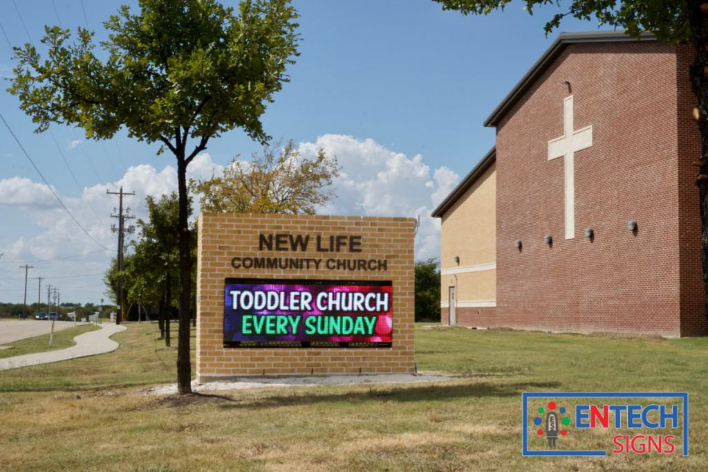 Church LED Signs, LED Signs for Churches, Outdoor LED Sign for Churches, LED Signs, LED Marquees