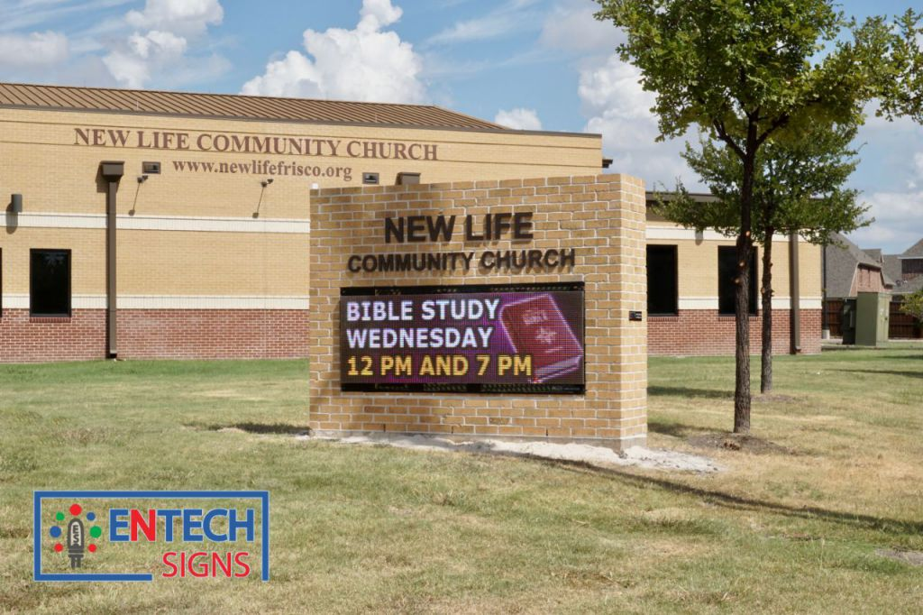 LED Signs Spread the Word and Makes Your Church a Landmark!