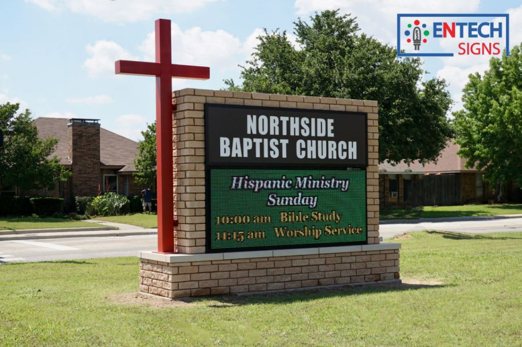 LED Signs for Churches are a great way to communicate with your congregation and future members!